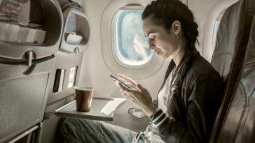 phone on flight