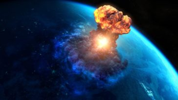 Asteroid exploded 3700 years ago