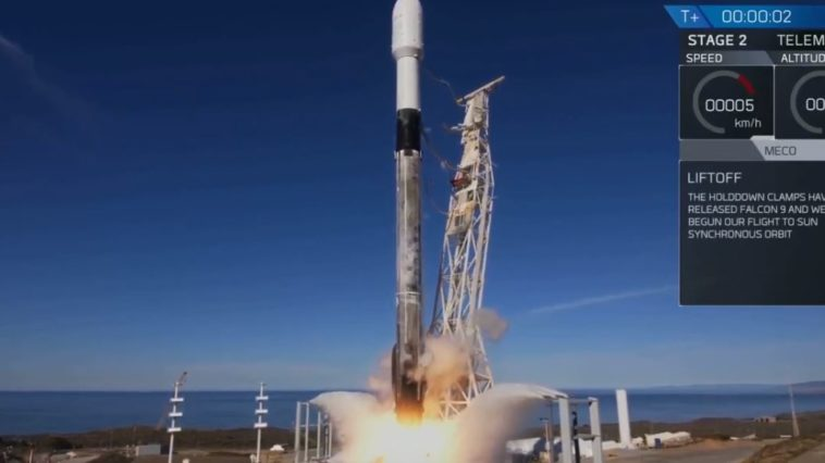 SpaceX launch records
