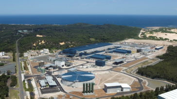 Desalination factories
