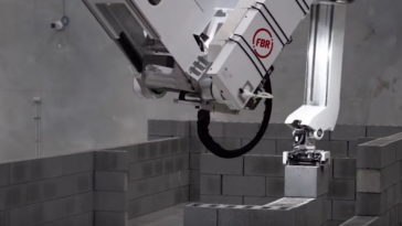 Hadrien X Brick laying robot